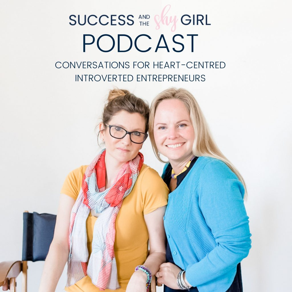 Success and the Shy Girl Podcast Cover Art